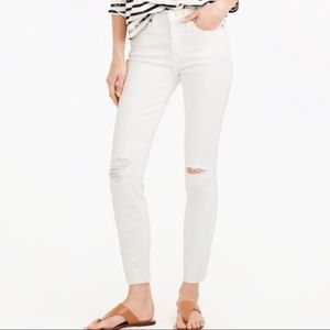 J.Crew Lookout High Rise Skinny Crop NWOT